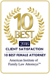 Ten Best Female Attorney 2016